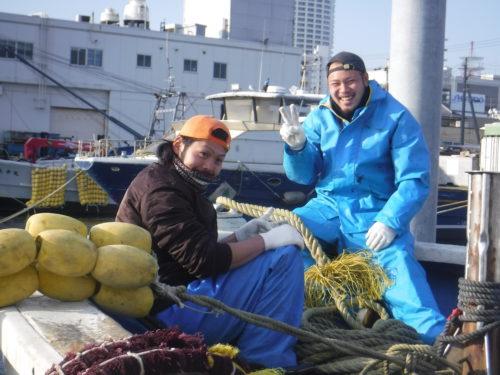 2020.1.18 コノシロ漁